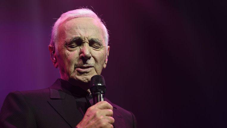 Charles Aznavour komt twee keer naar Amsterdam dit jaar. Beeld anp