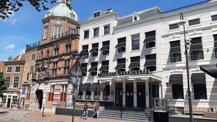 Hotel-restaurant Bellevue in Dordrecht ging na de corona-lockdown niet meer open.