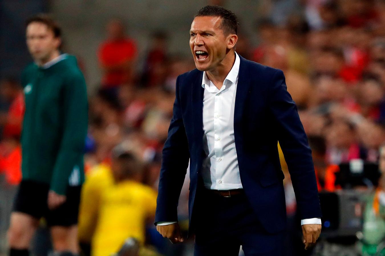 Hapoel-coach Barak Bakhar.