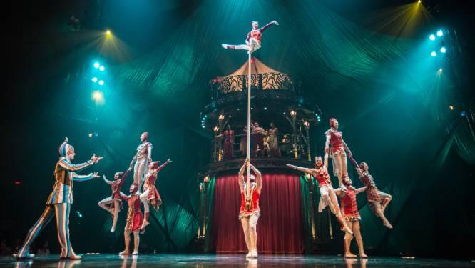 Cirque du Soleil keert terug naar podium