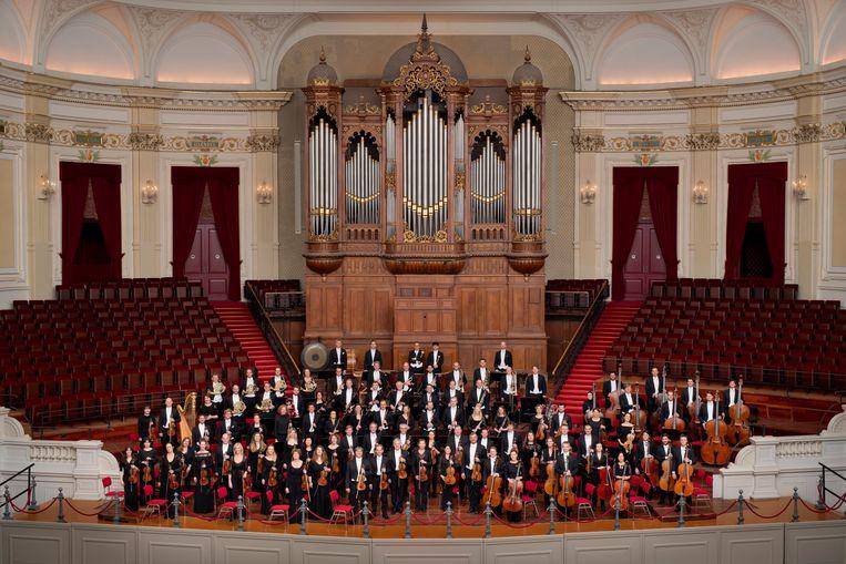 Het Koninklijk Concertgebouworkest. Beeld