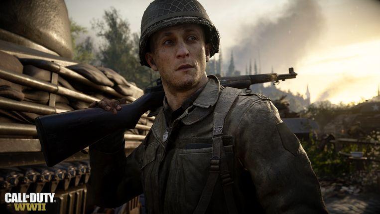 De bestverkopende videogame van het moment is nog steeds 'Call of Duty: WWII'. Beeld Activision