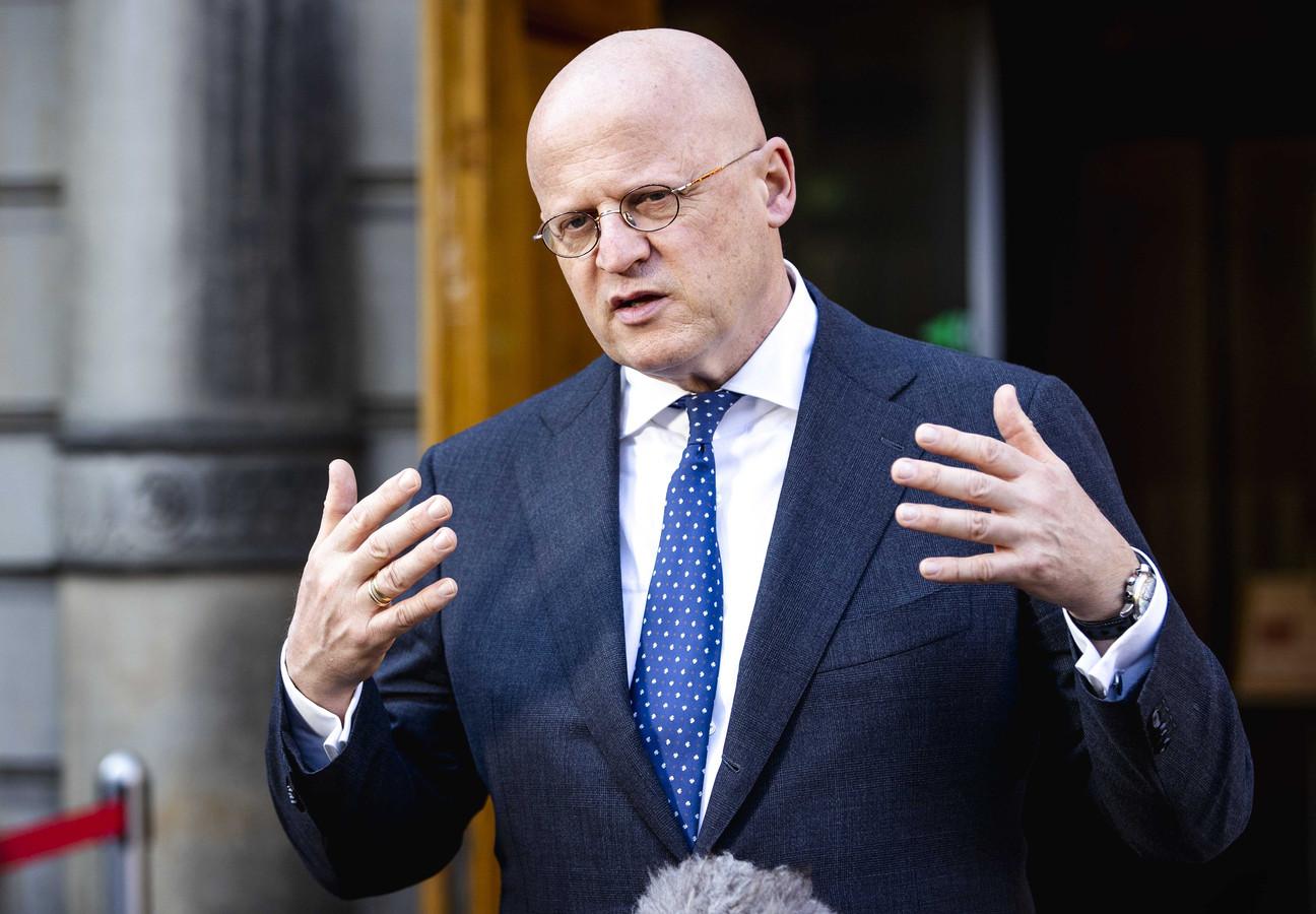 Ferd Grapperhaus, demissionair minister van Justitie en Veiligheid.