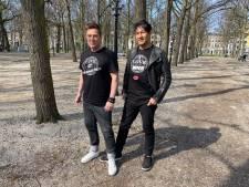 Joop en Roberto maken vegan T-shirts: 'De wereld heeft het moeilijk, creativiteit blijft altijd'