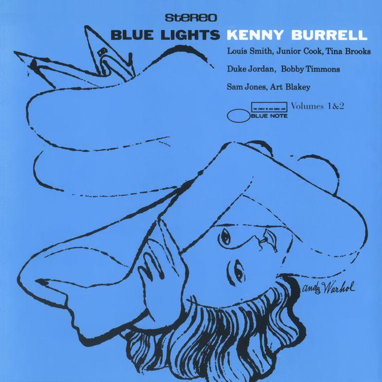 Ontwerp Reid Miles, illustratie Andy Warhol, 1958. Beeld Universal Music Group