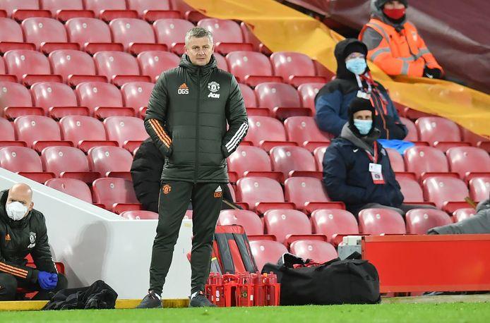 Trainer Ole Gunnar Solksjaer van Manchester United.
