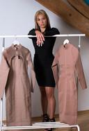 Sietske Wolters (19) is een kledingbedrijf begonnen.