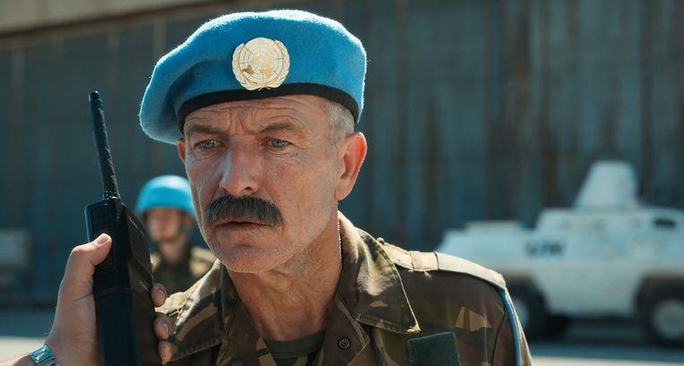 Raymond Thiry als majoor Rob Franken, de plaatsvervanger van Thom Karremans. Beeld