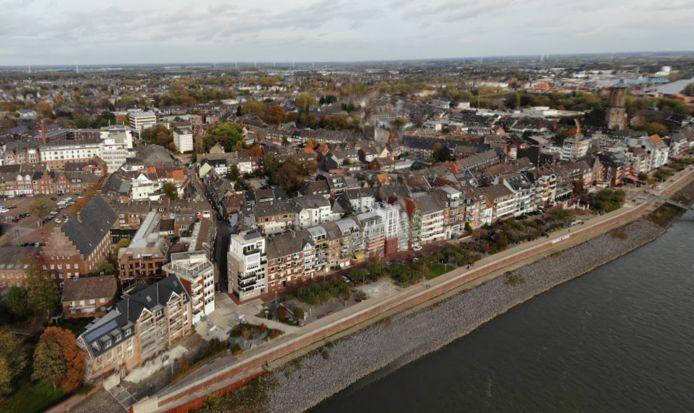 Emmerik vanuit de lucht. Foto ter illustratie.