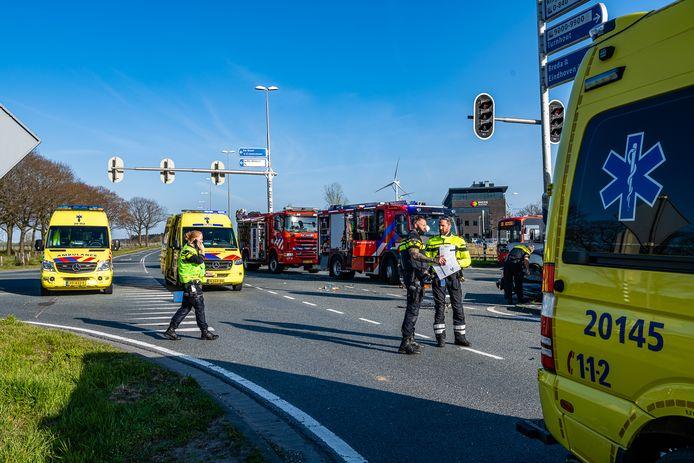 Ernstig ongeluk in Tilburg