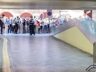 Gigantische drukte aan station Leuven na afloop WK Wielrennen: 42.000 mensen moeten met trein naar huis