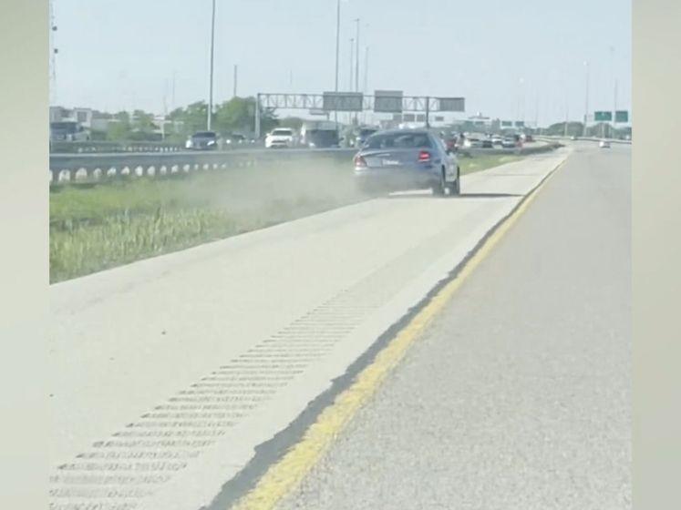 Dronken bestuurder wordt klemgereden door andere automobilisten