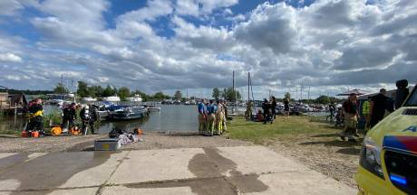 Ongeval met boot op Nuldernauw tussen Putten en Zeewolde, tenminste één gewonde