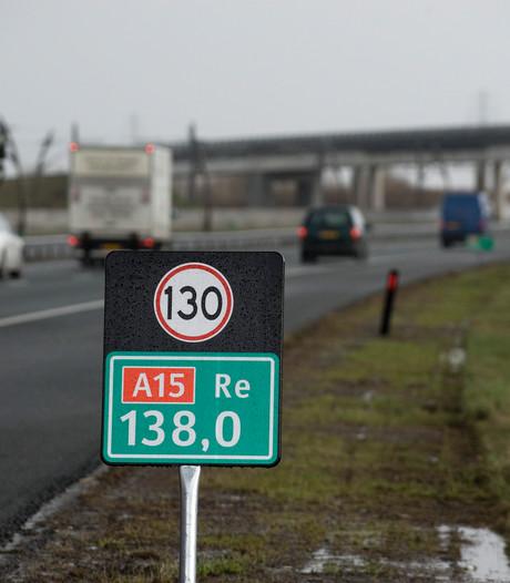 A15 twee weekenden lang dicht wegens wegwerk