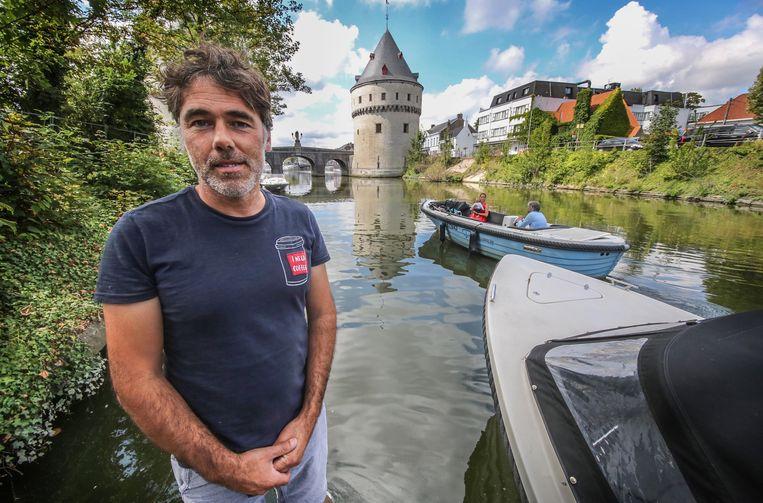 Karl Verniers van bootverhuur De Keper.