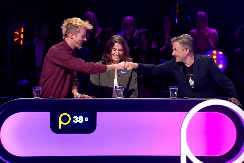 Bart Peeters in 'Popquiz' Beeld VTM