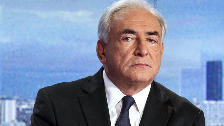 De beklaagde Dominique Strauss-Kahn.