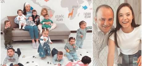"""Kristina et Galip ont eu vingt bébés en moins d'un an: """"Chaque mère porteuse a reçu 8.000 euros"""""""