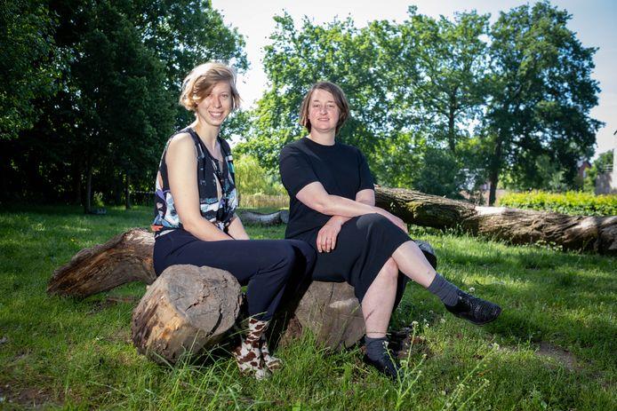 BORNEM Anna Dupon en Xandry van den Besselaar van VETO, de winnaars van Eigen Kweek, zijn twee weken in residentie bij cc Ter Dilft