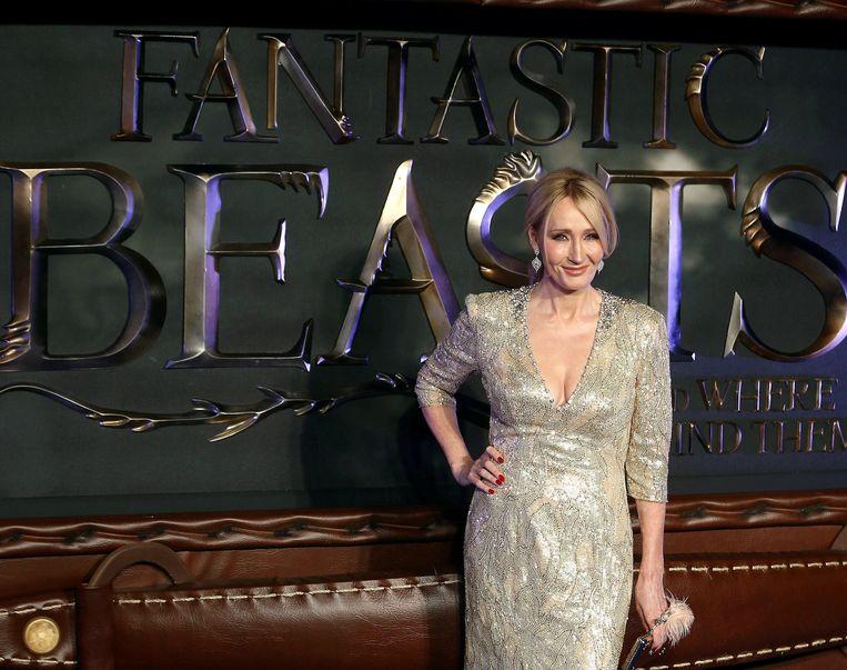 Hoeveel van de winst op Rowlings rekening terechtkomt, is niet bekend.  Beeld REUTERS