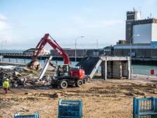 Metamorfose Breskens echt van start met sloop van gebouwen in haven