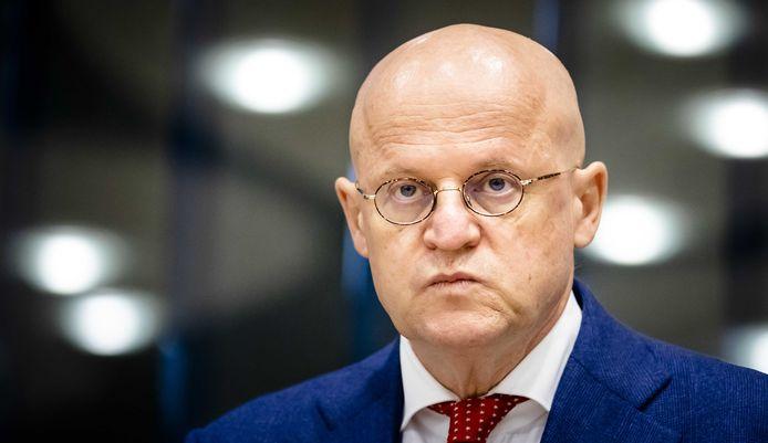 Minister Ferdinand Grapperhaus (Justitie en Veiligheid) kreeg het te verduren tijdens het vragenuur vanmiddag.