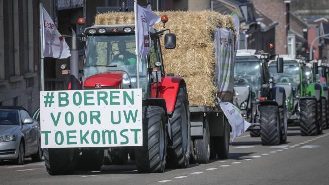 """Jonge boeren voeren actie om onzekere toekomst aan te klagen: """"Het moet werkbaar blijven"""""""