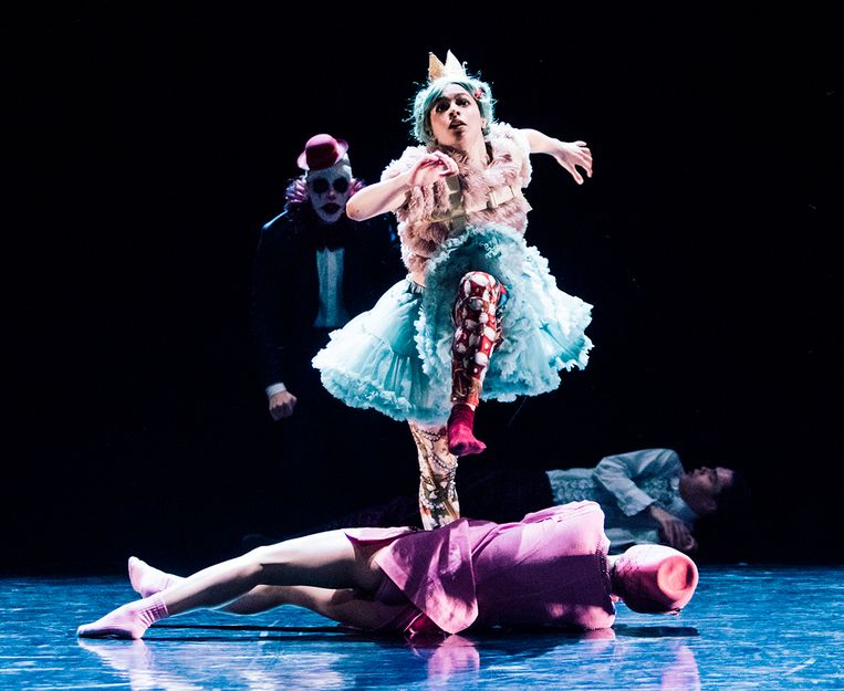 Impasse van choreograaf Johan Inger door Nederlands Dans Theater 2. Beeld Joris-Jan Bos