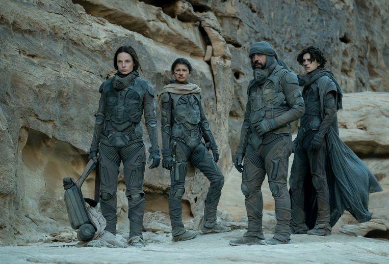 'Dune' lijkt internationaal een blockbuster te worden. Beeld RV