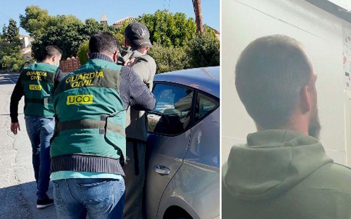 Volgens de Guardia Civil werd Y.M.W. (33) door de Belgische autoriteiten omschreven als een van de meest gezochte drugsbazen van ons land.