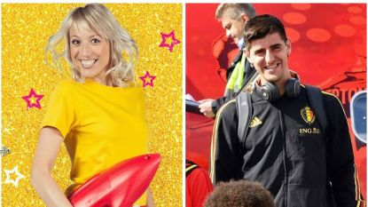 SHOWBITS. Heidi Van Tielen goes baywatch en Thibaut Courtois wordt basketballer