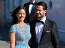 De Zweedse prins Carl Philip en zijn vrouw prinses Sofia.