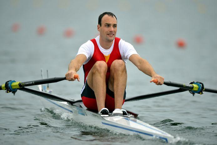 Olympisch roeier Tim Maeyens is ook lid van de Koninklijke Roeivereniging Brugge.