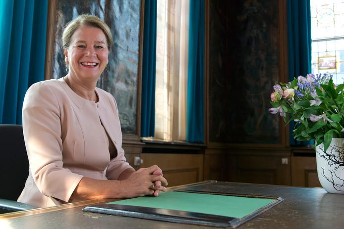 Burgemeester Annemarie Penn-te Strake van Maastricht.