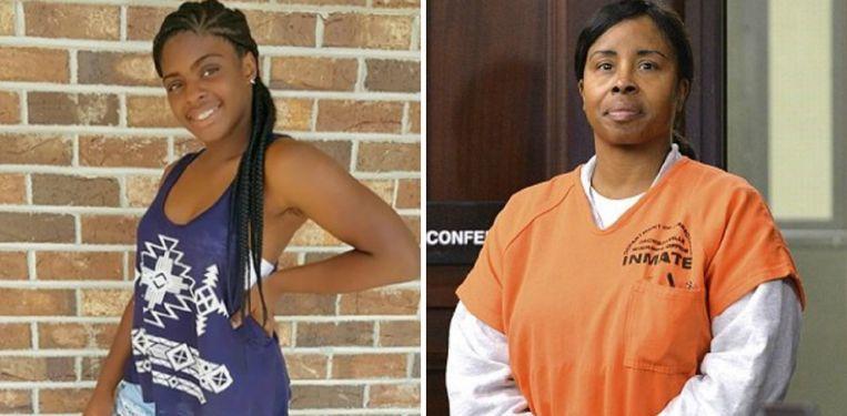 Links: Kamiyah Mobley. Rechts: Gloria Williams, haar ontvoerster die levenslang riskeert.