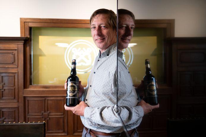 Charles Leclef van brouwerij Het Anker en initiatiefnemer van #TweeduizendHARThonderd
