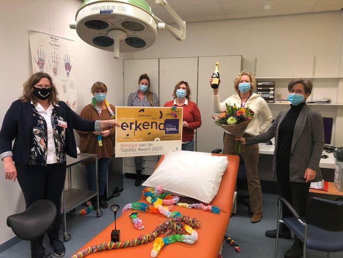 Het winnende team van Plastische Chirurgie.