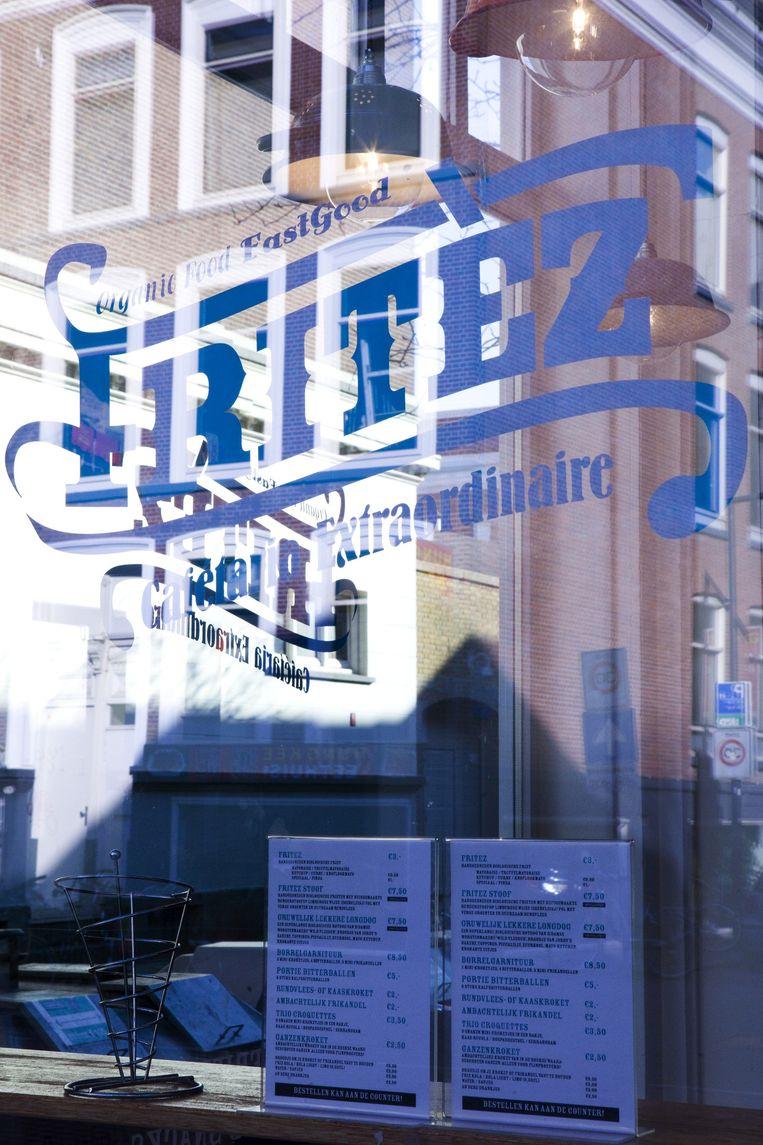 Gevel van Fritez in Rotterdam Beeld Io Cooman
