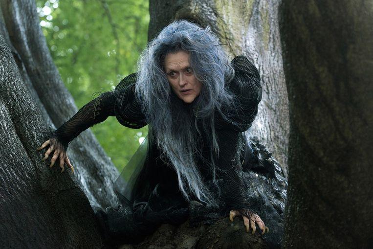 Meryl Streep als de heks in Into The Woods. Beeld -