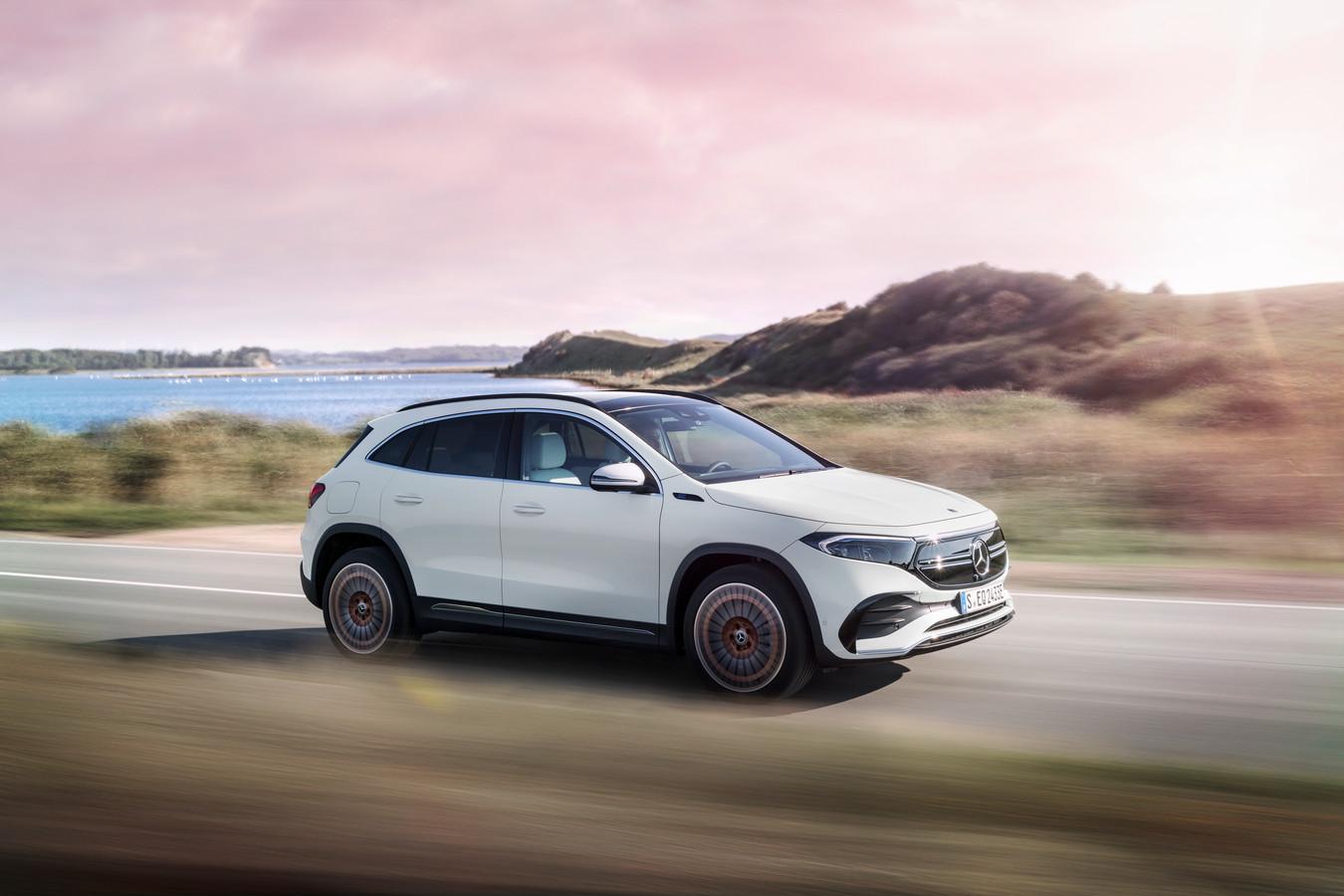 De nieuwe Mercedes-Benz EQA