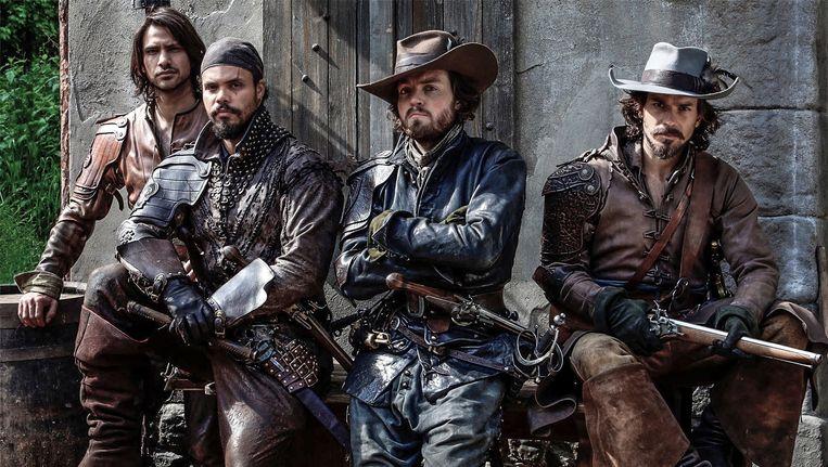Tussen alle oude series is The Musketeers wel aangenaam tijdverdrijf. Beeld BBC First
