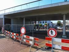 Geen acuut instortingsgevaar, toch blijft onderdoorgang Julianabrug nog twee weken dicht