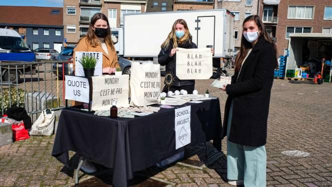 """Studenten strijken met mini-onderneming Quote Us neer op Nielse markt: """"Blij dat mensen eindelijk fysiek met onze producten kunnen kennismaken"""""""