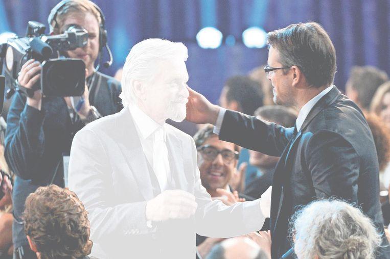 Michael Douglas bij de Screen Actors Guild Awards, 2014. Beeld afp