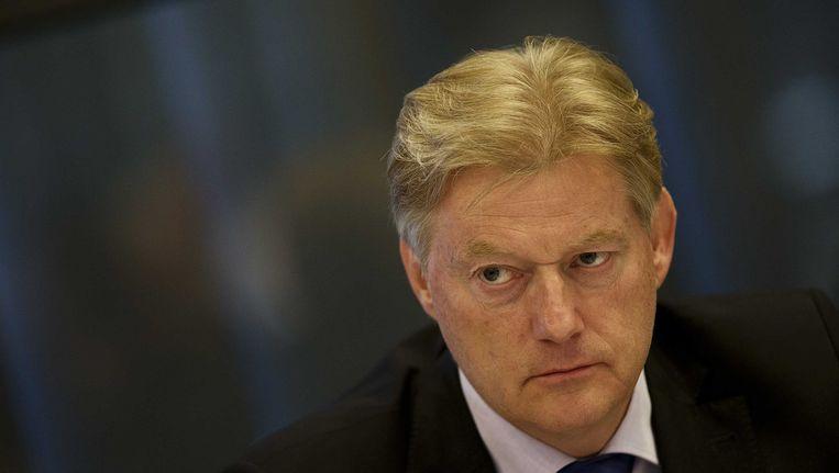 Staatssecretaris Martin van Rijn in de Tweede Kamer. Beeld ANP