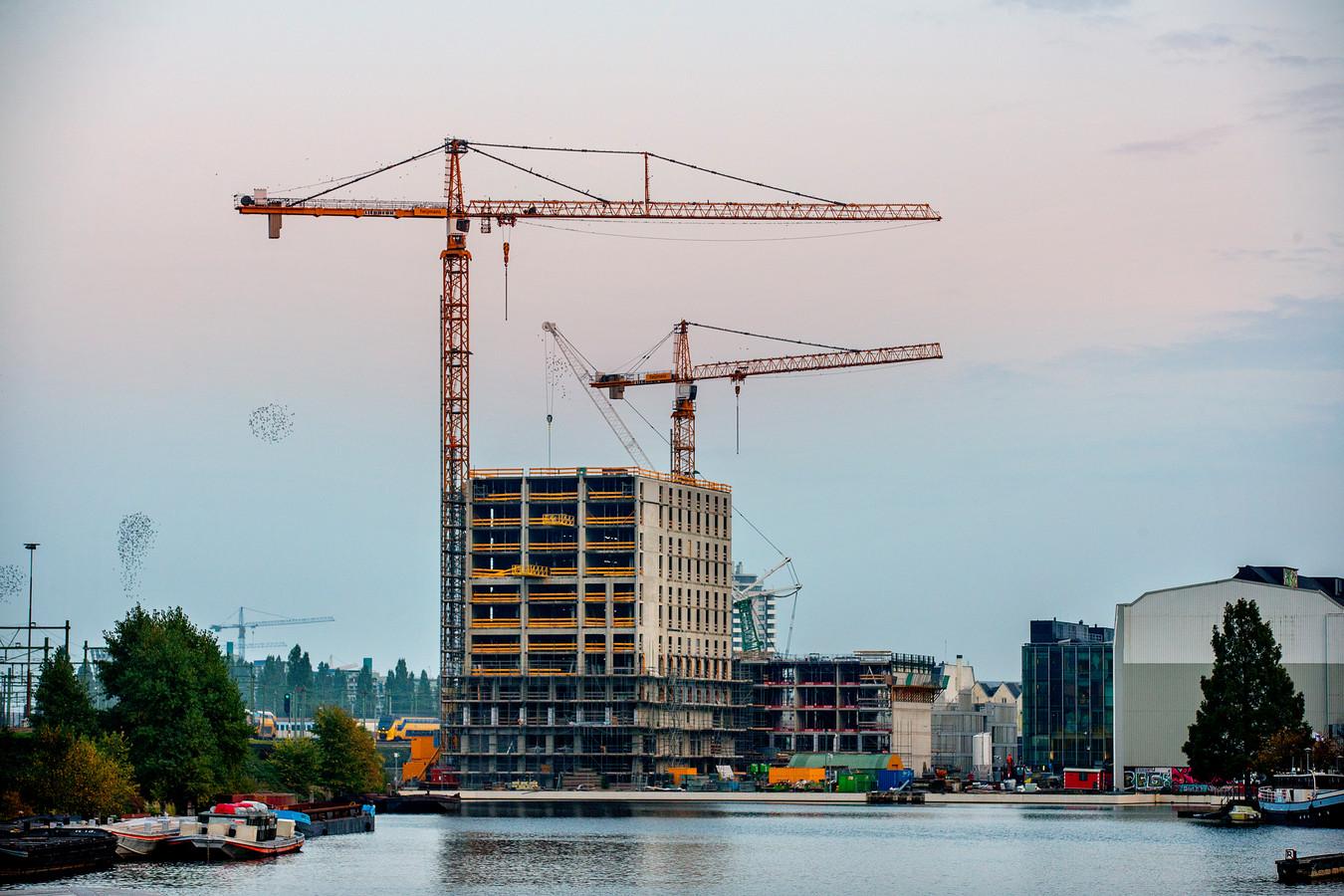 Nieuwbouwproject Oostenburg in Amsterdam.