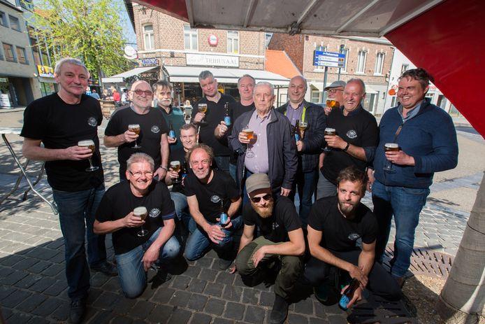 De vzw Jazz Bilzen Bierbrouwers brengen nieuw bier uit: de '65 Drunken Sailor!
