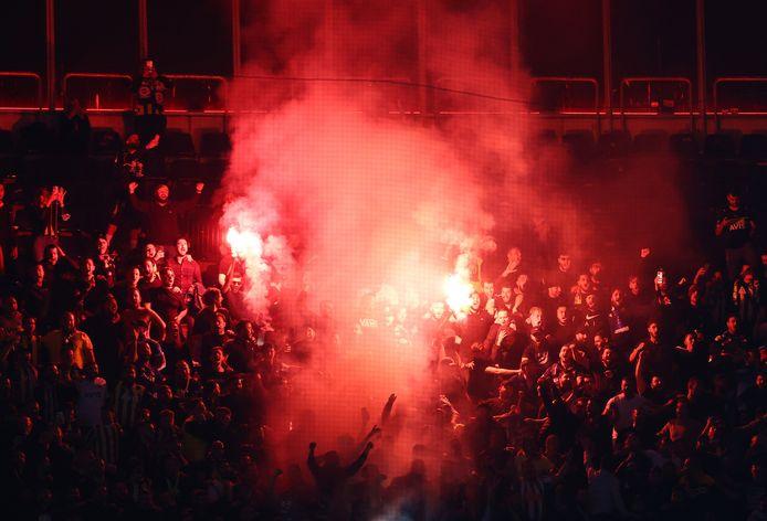 Fans van Fenerbahçe. Foto ter illustratie.
