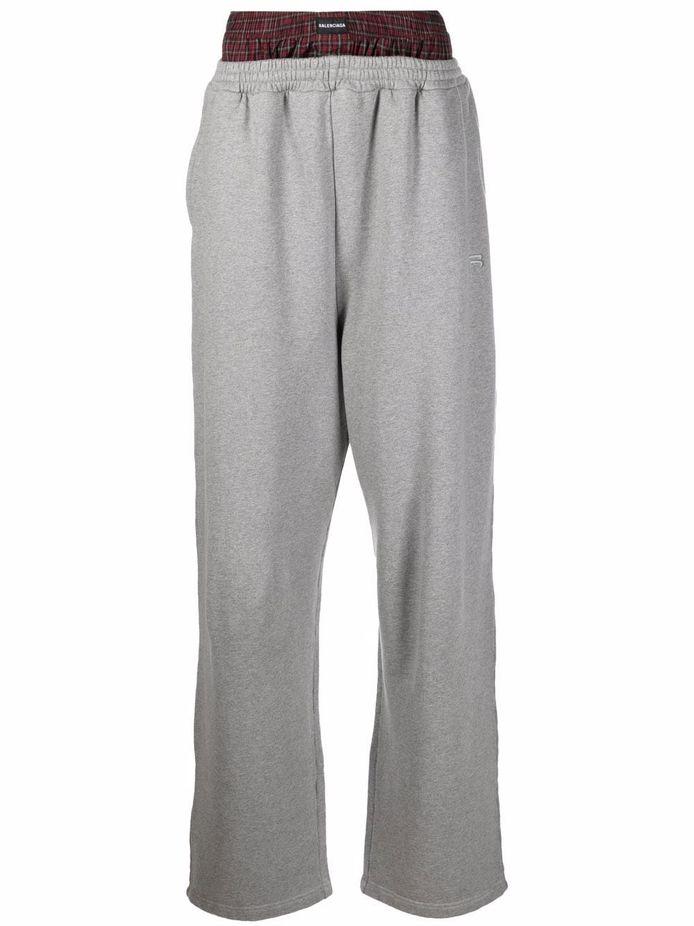 "Le pantalon ""trompe-l'oeil"" de Balenciaga."