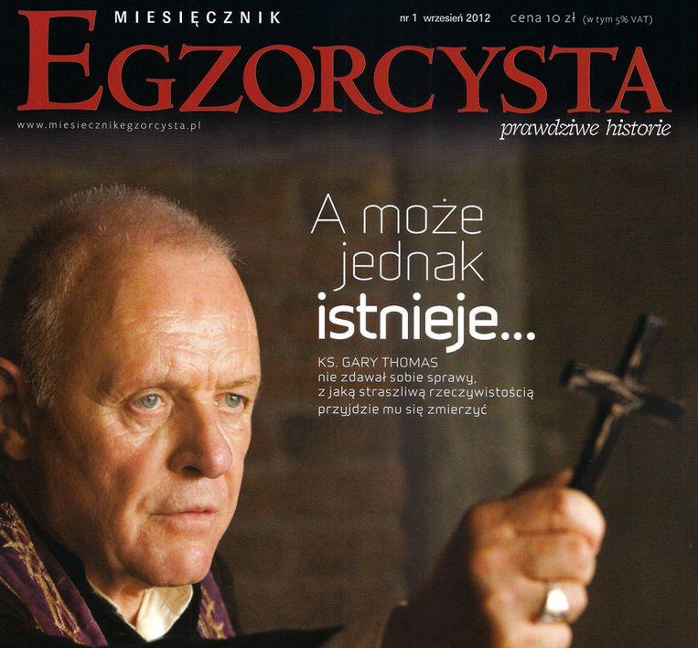 De omslag van de eerste editie van Egzorcysta Beeld